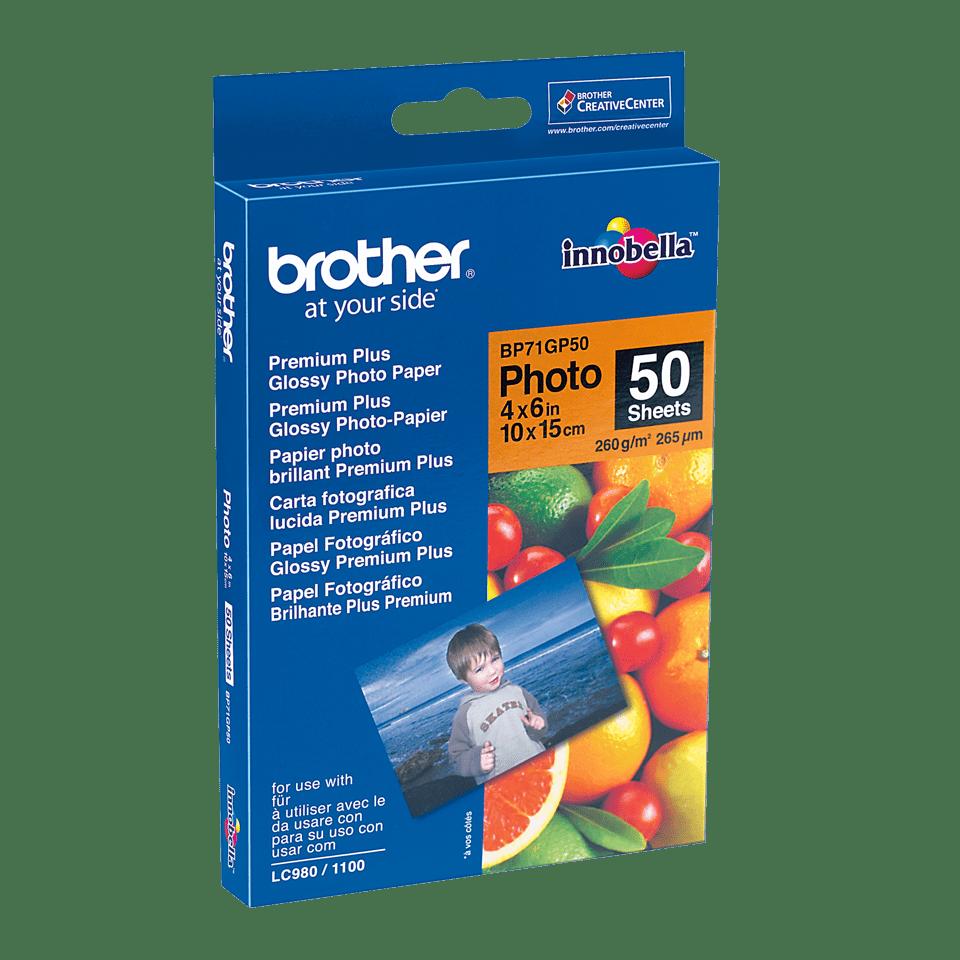 Brother BP71GP50 Fotopapier A6