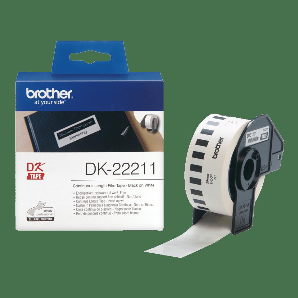 Brother DK-22211 Endlosetiketten – schwarz auf weiß 3