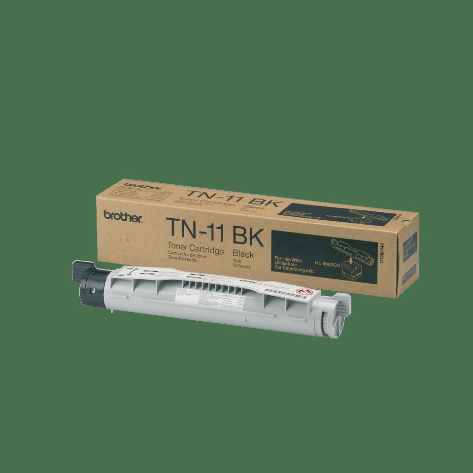 Brother TN-11BK Tonerkartusche – Schwarz 0