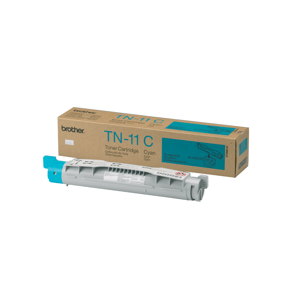 Brother TN-11C Tonerkartusche – Cyan