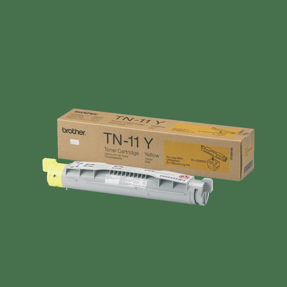 Brother TN-11Y Tonerkartusche – Gelb