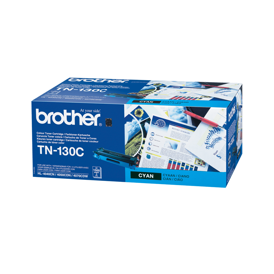Brother TN-130C Tonerkartusche – Cyan 2