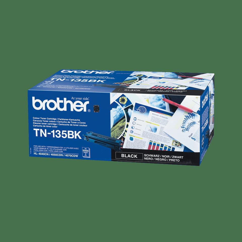 Brother TN-135BK Tonerkartusche – Schwarz 2