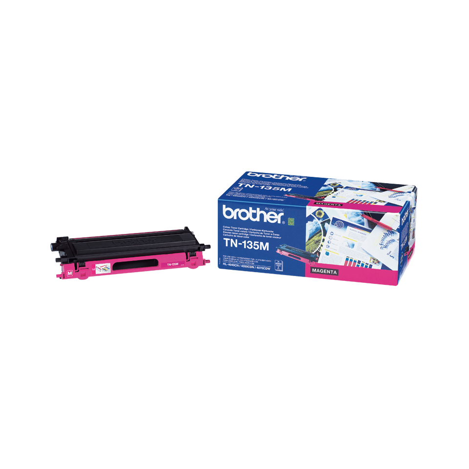 Brother TN-135M Tonerkartusche – Magenta 0