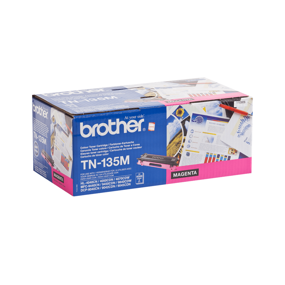 Brother TN-135M Tonerkartusche – Magenta