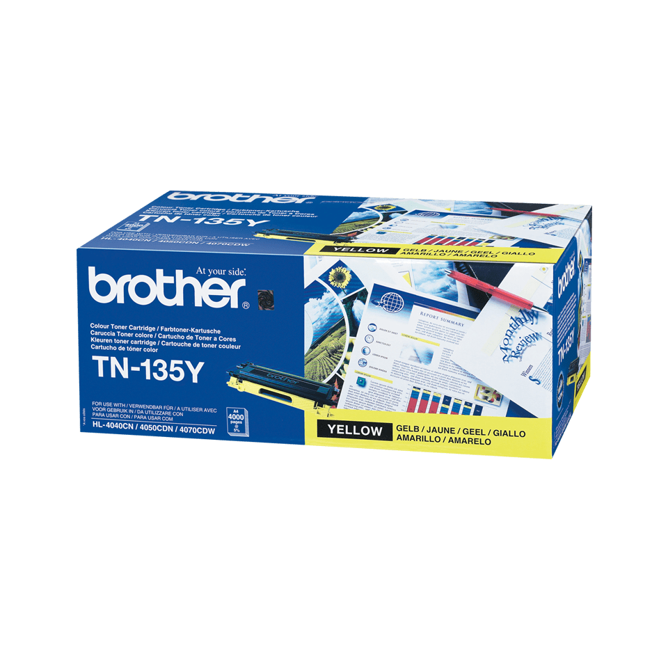 Brother TN-135Y Tonerkartusche – Gelb 0