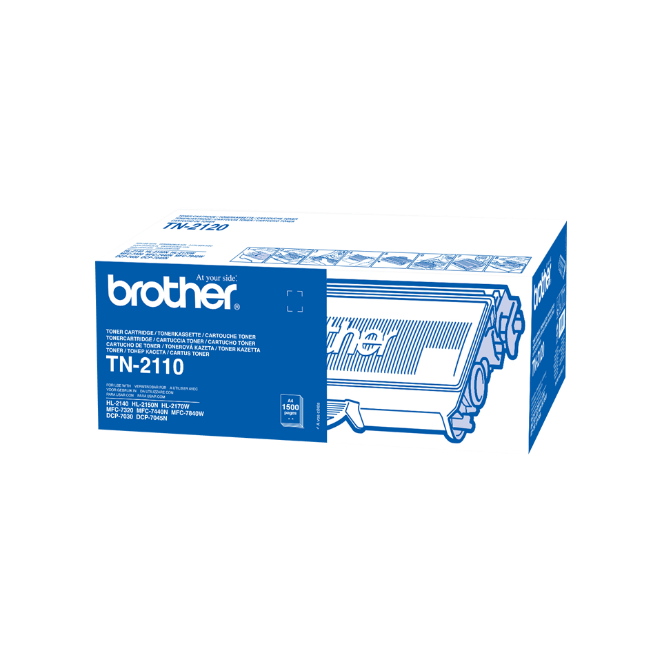 Brother TN-2110 Tonerkartusche – Schwarz 2