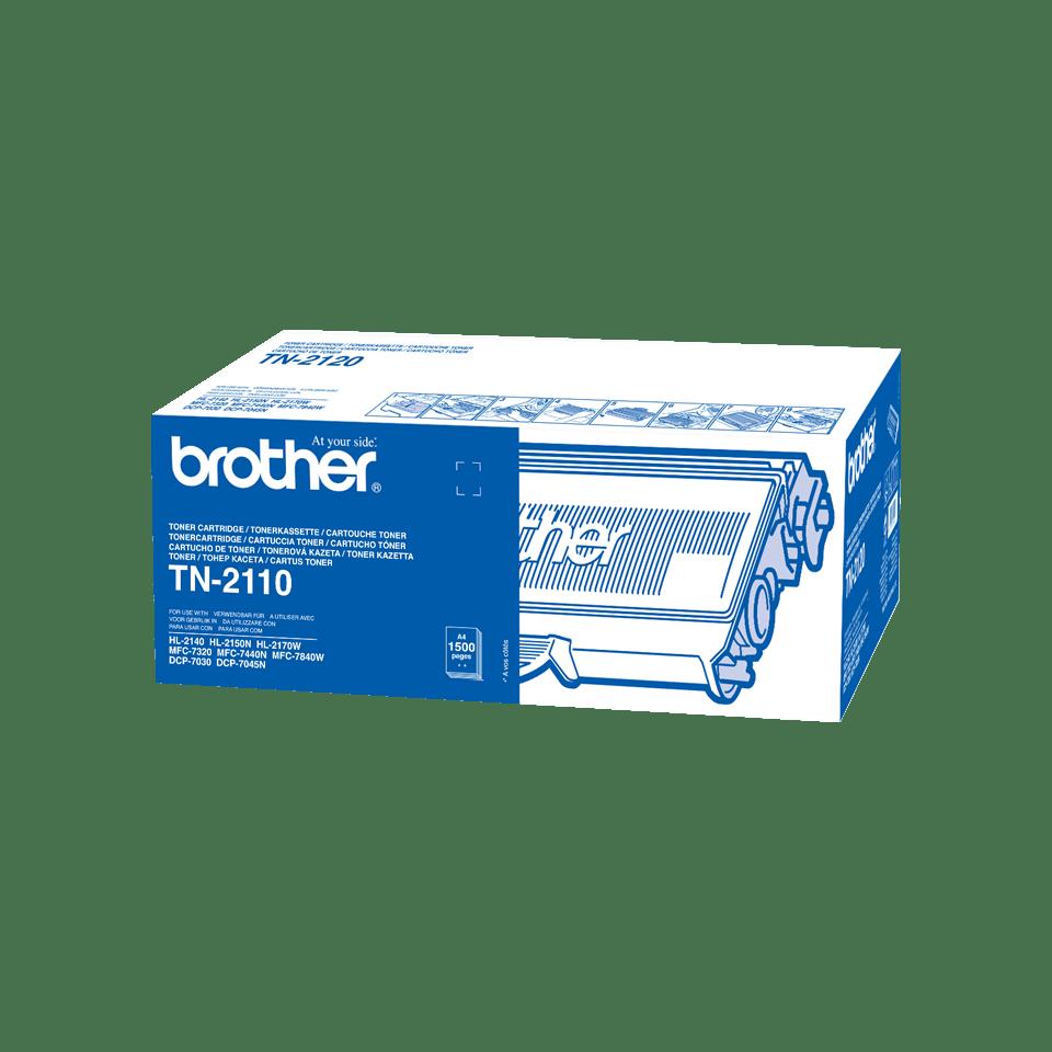 Brother TN-2110 Tonerkartusche – Schwarz 2
