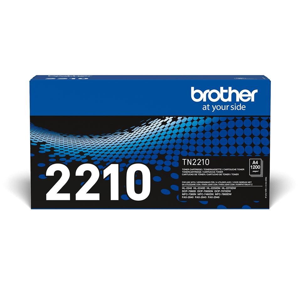 Brother TN-2210 Tonerkartusche – Schwarz
