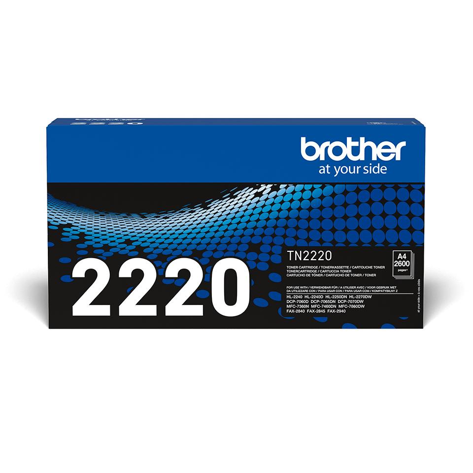 Brother TN-2220 Tonerkartusche – Schwarz 2