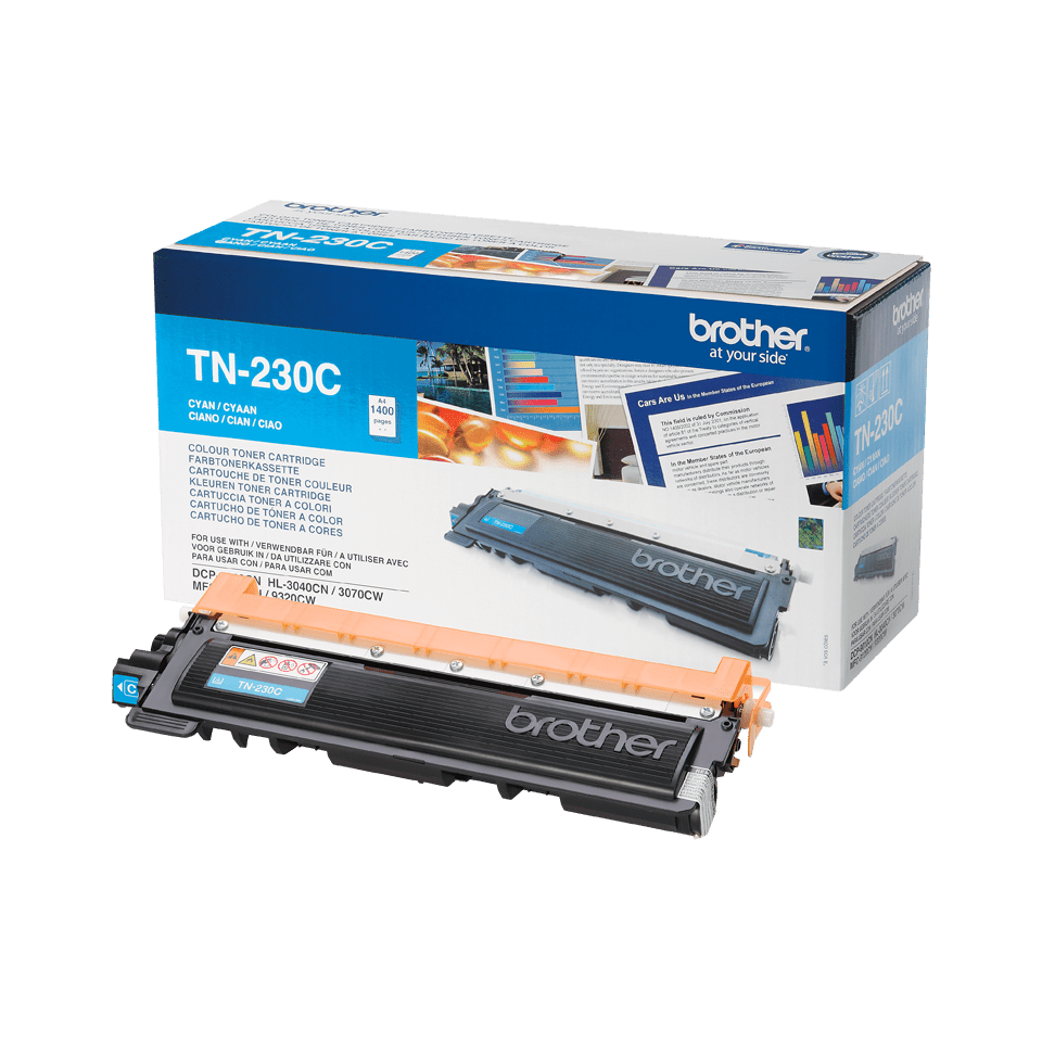 Brother TN-230C Tonerkartusche – Cyan