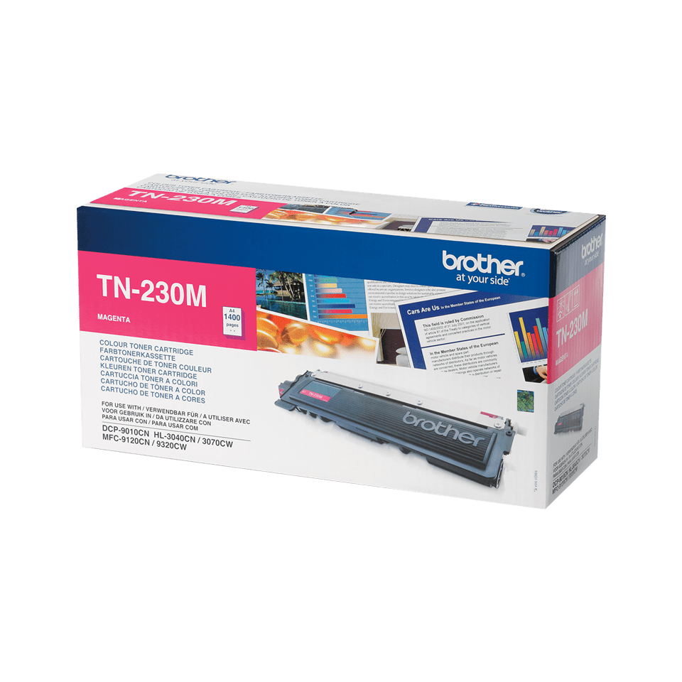 Brother TN-230M Tonerkartusche – Magenta 2