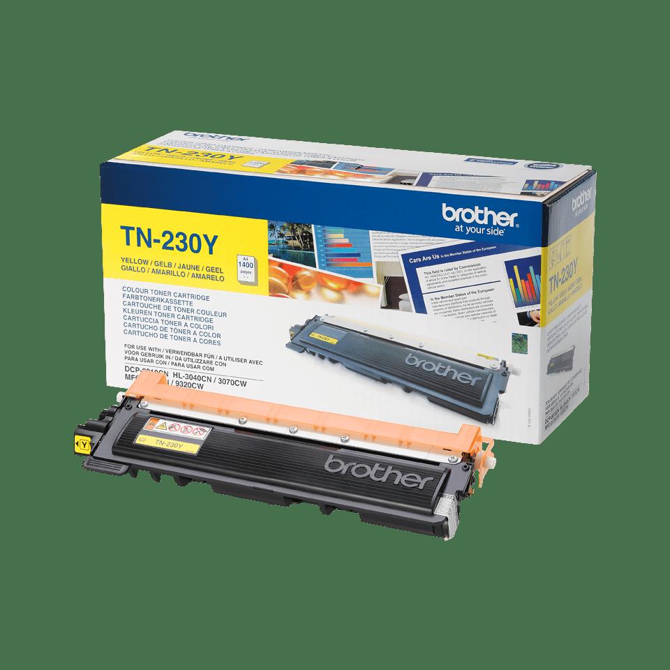 Brother TN-230Y Tonerkartusche – Gelb