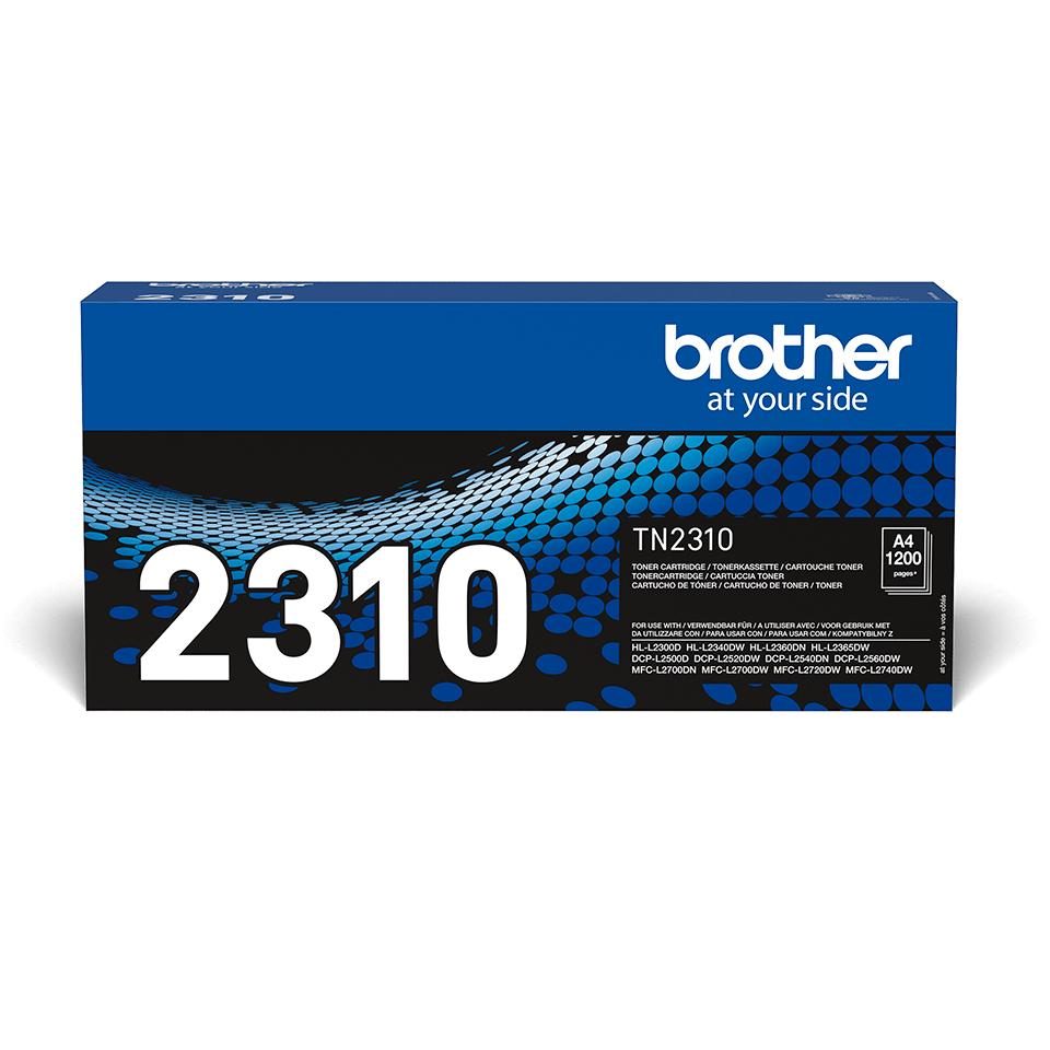 Brother TN-2310 Tonerkartusche – Schwarz 2