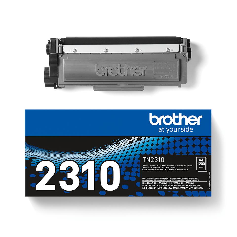 Brother TN-2310 Tonerkartusche – Schwarz 3