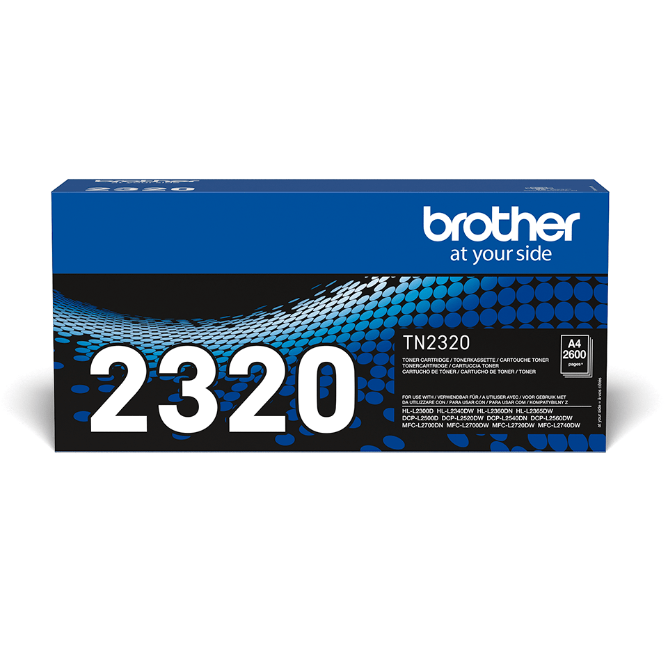 Brother TN-2320 Tonerkartusche – Schwarz 2