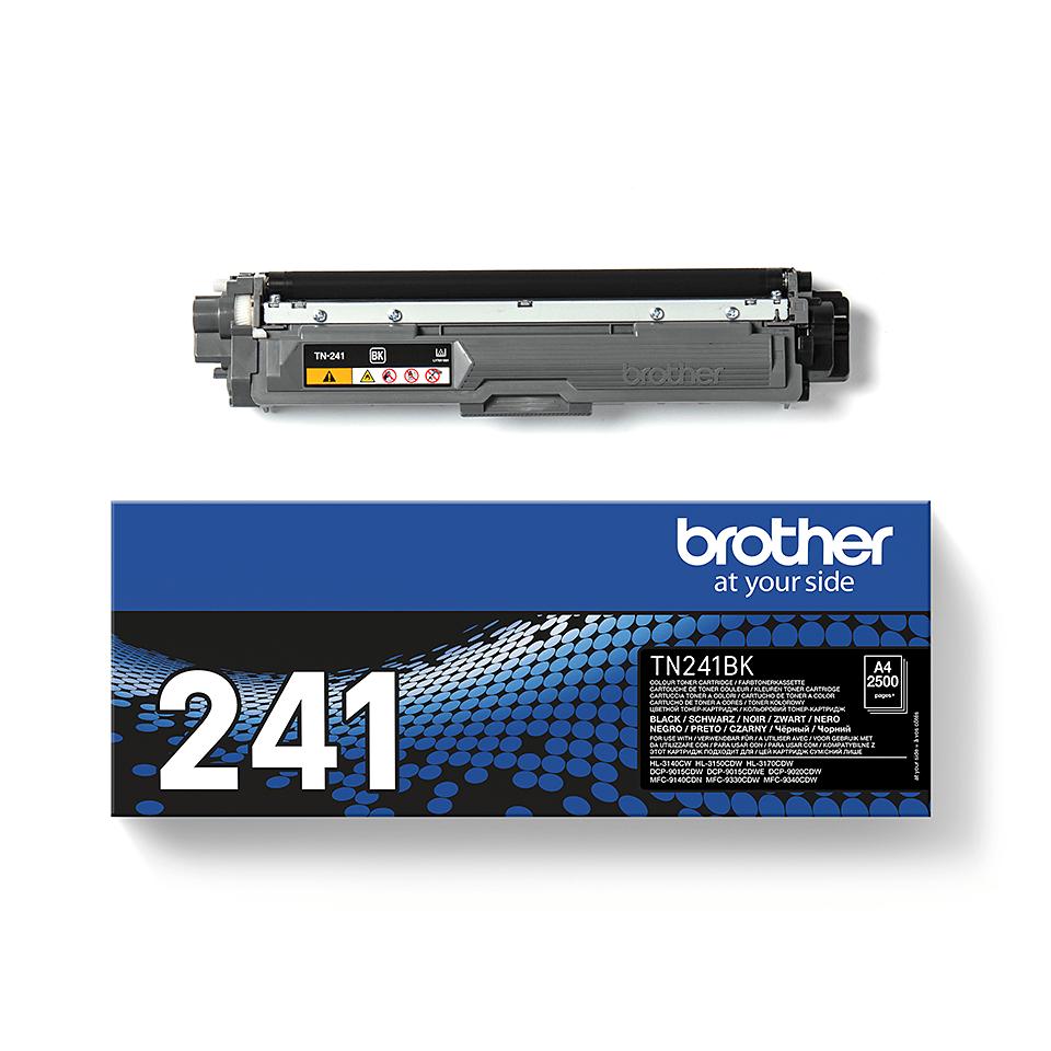 Brother TN-241BK Tonerkartusche – Schwarz 1