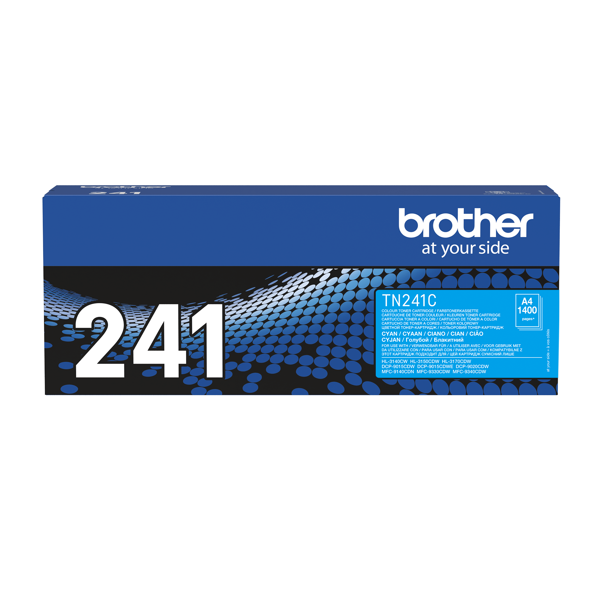 Brother TN-241C Tonerkartusche – Cyan