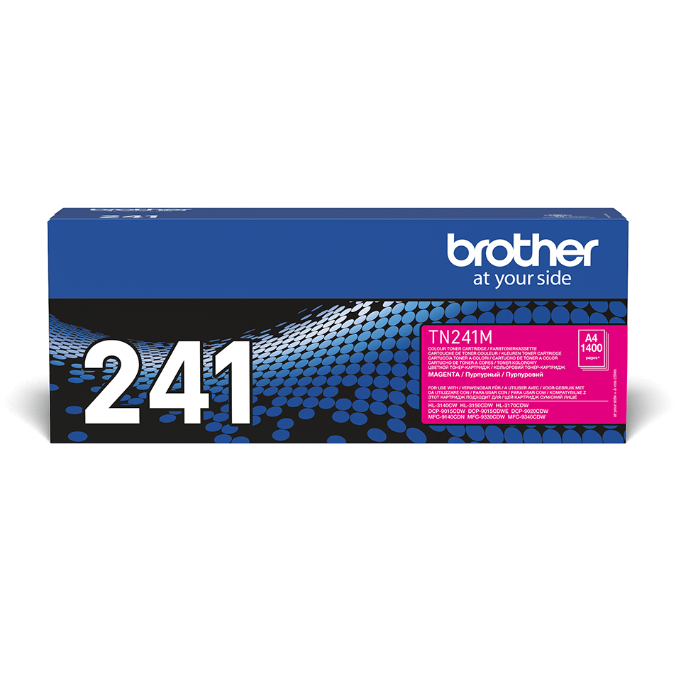 Brother TN-241M Tonerkartusche – Magenta