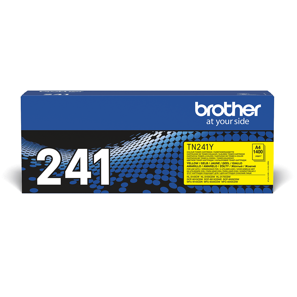 Brother TN-241Y Tonerkartusche – Gelb