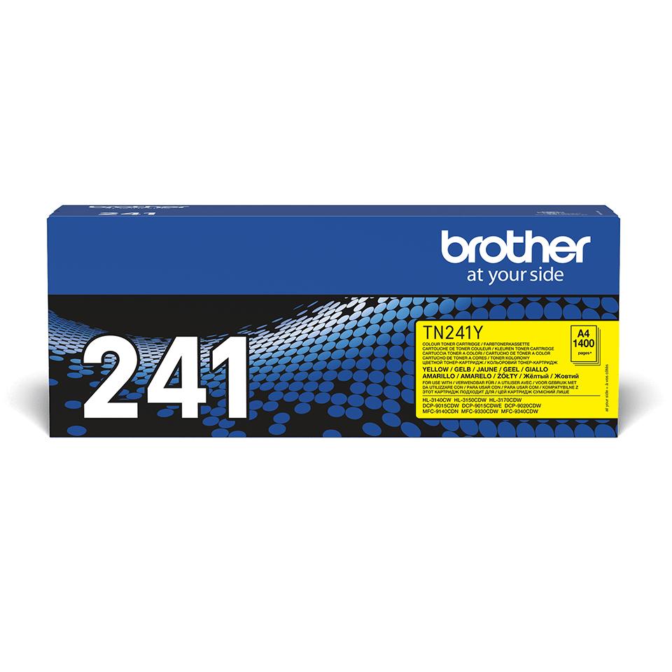 Brother TN-241Y Tonerkartusche – Gelb 1