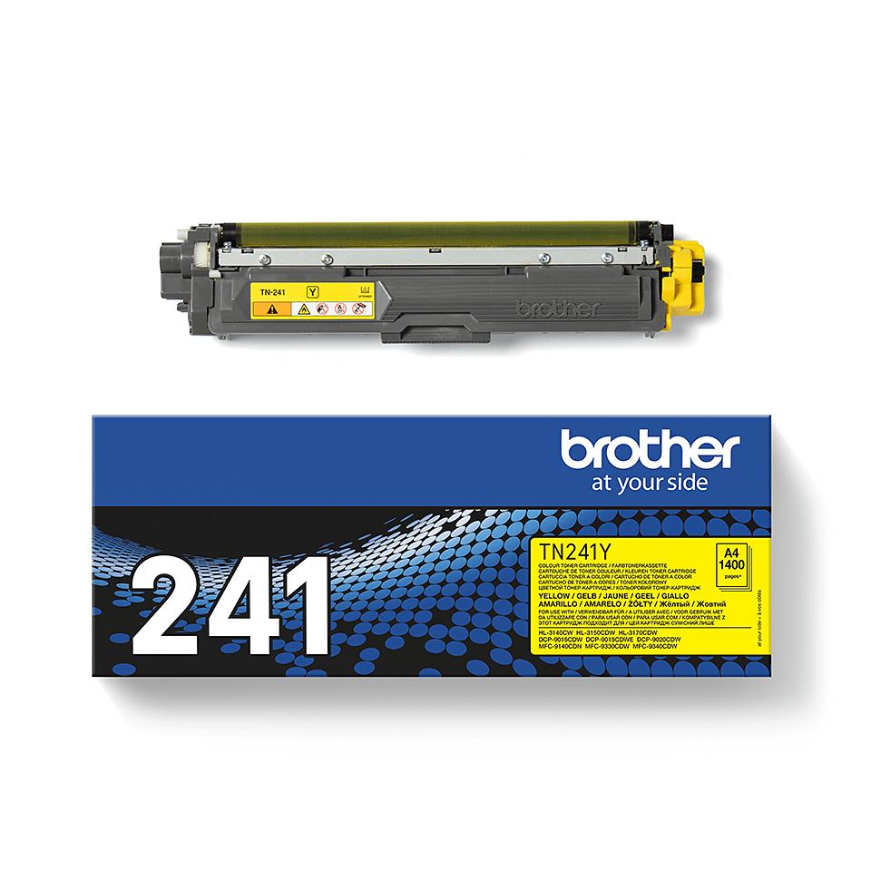 Brother TN-241Y Tonerkartusche – Gelb 3