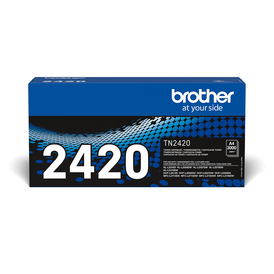 Brother TN-2420 Tonerkartusche - Schwarz 2