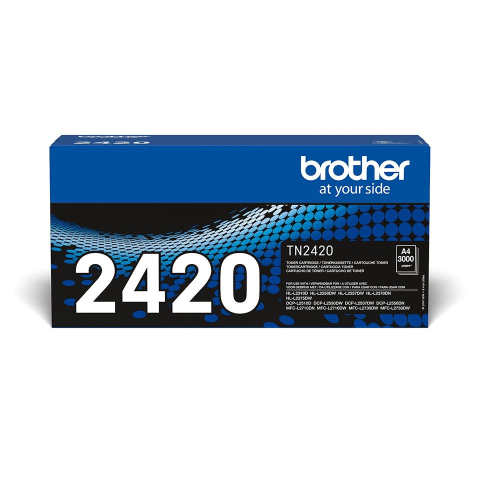 Brother TN-2420 Tonerkartusche - Schwarz 2