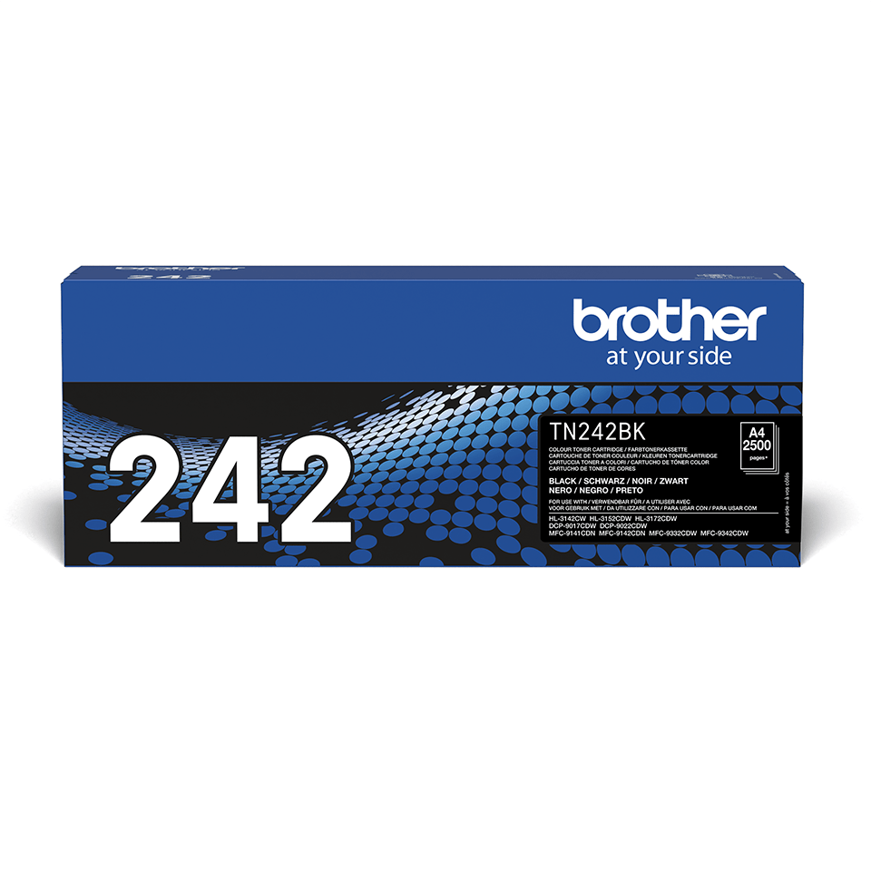 Brother TN-242BK Tonerkartusche – Schwarz