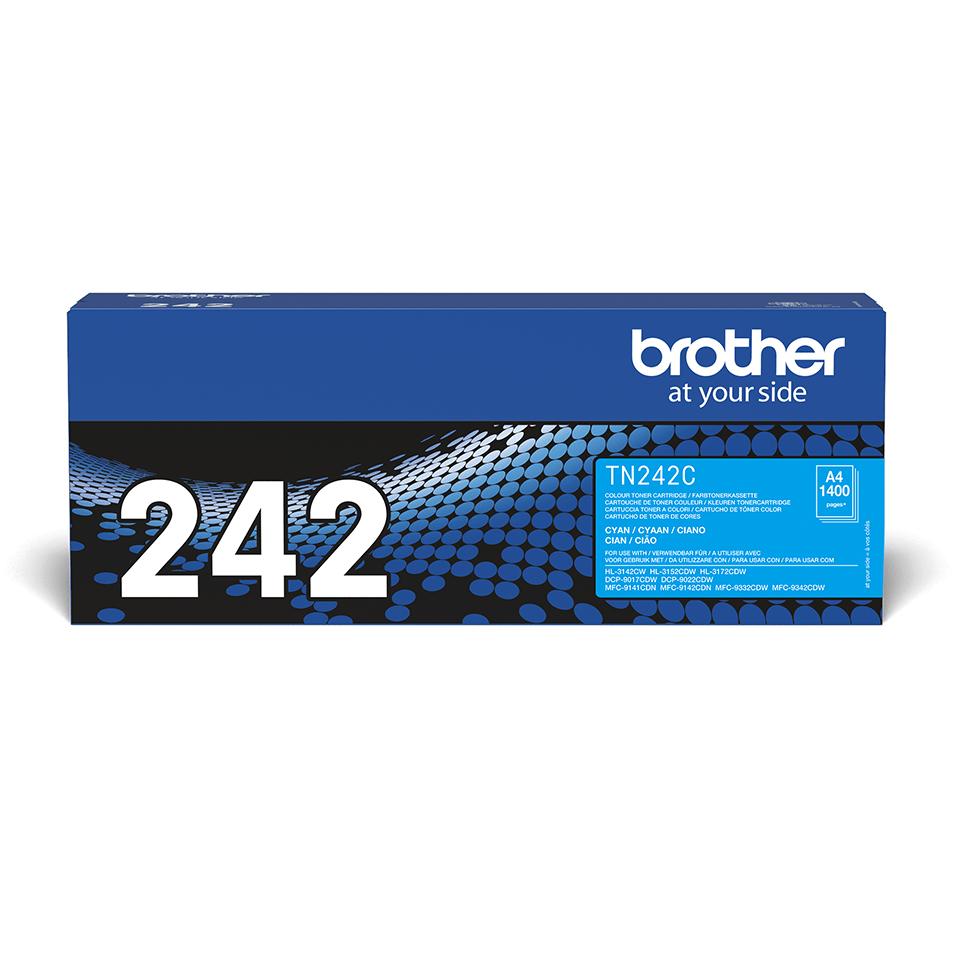 Brother TN-242C Tonerkartusche – Cyan
