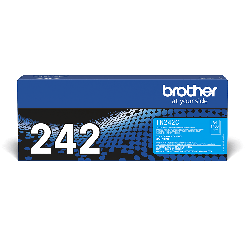 Brother TN-242C Tonerkartusche – Cyan 0