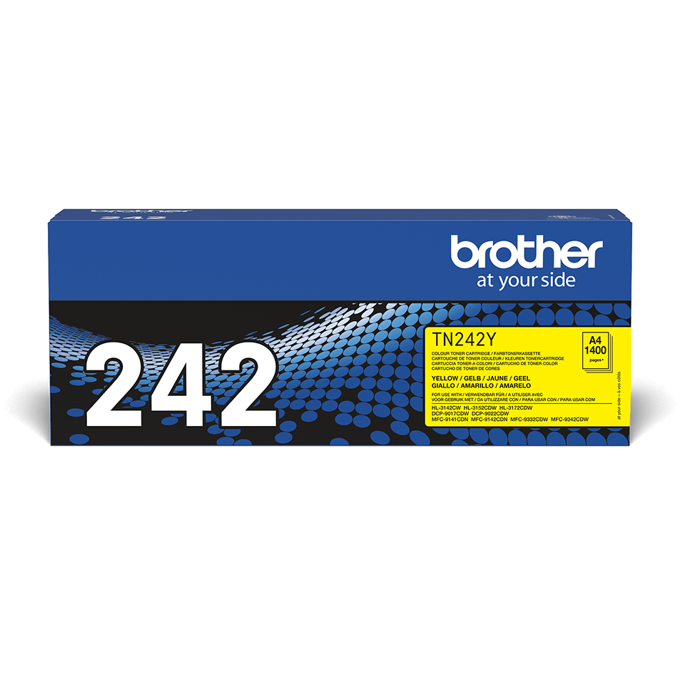 Brother TN-242Y Tonerkartusche – Gelb