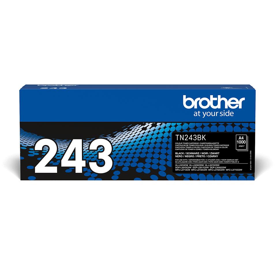Brother TN-243BK Tonerkartusche – Schwarz 2