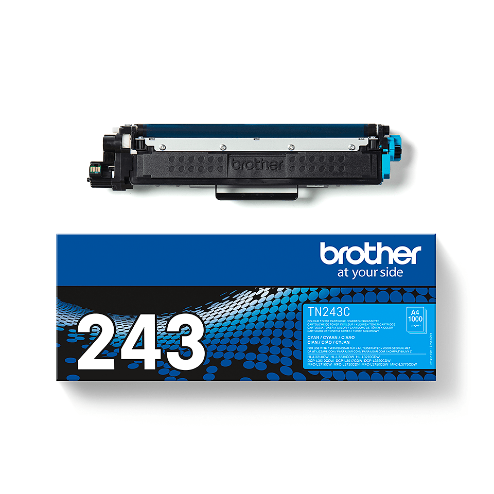 Brother TN-243C Tonerkartusche – Cyan 3