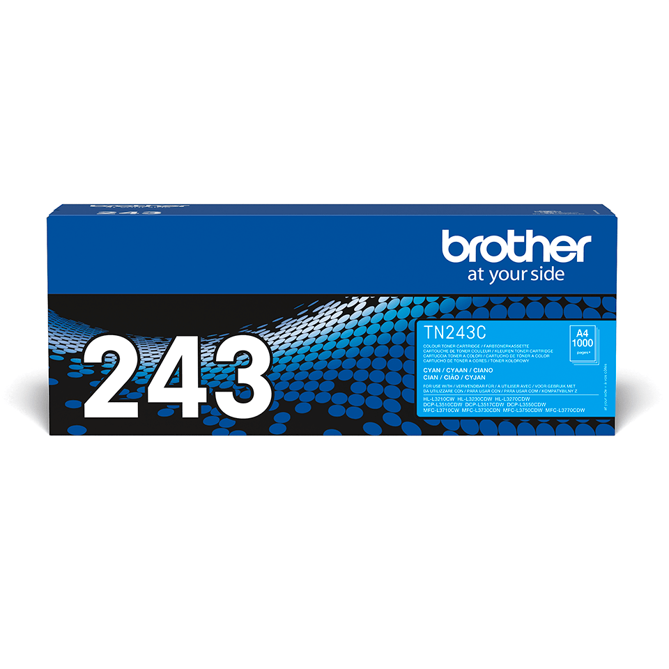 Brother TN-243C Tonerkartusche – Cyan 2