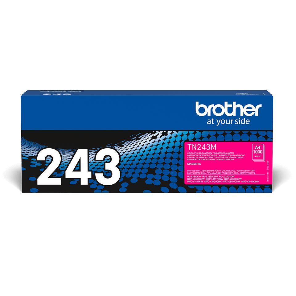 Brother TN-243M Tonerkartusche – Magenta