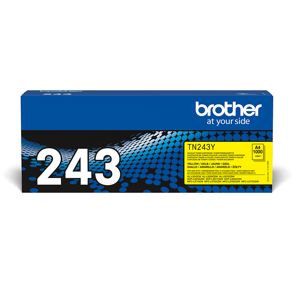 Brother TN-243Y Tonerkartusche – Gelb 2