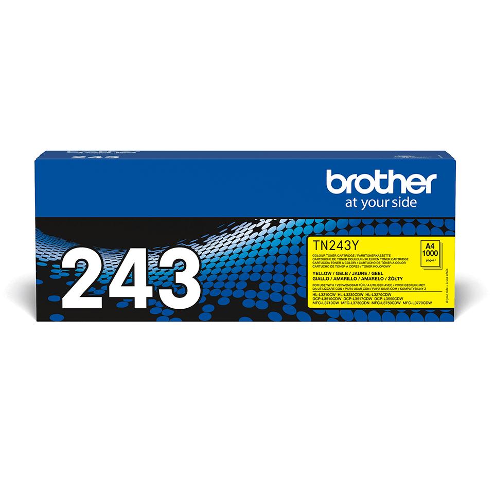 Brother TN-243Y Tonerkartusche – Gelb