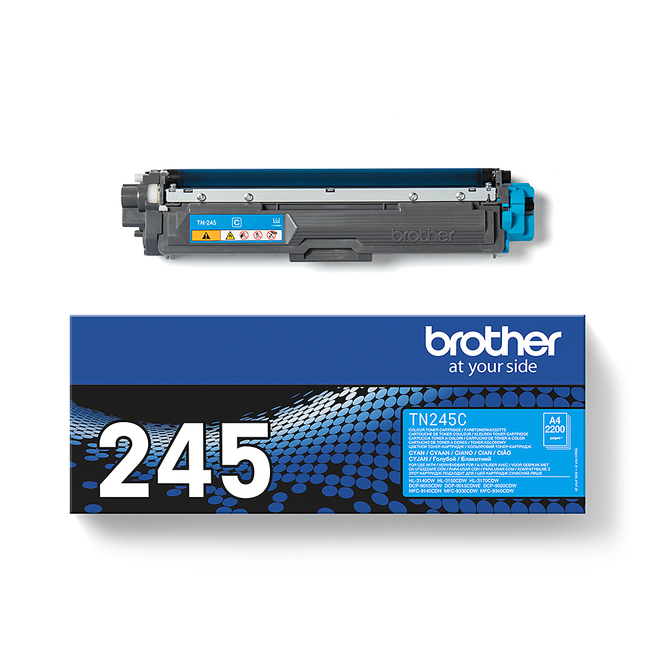 Brother TN-245C Tonerkartusche – Cyan