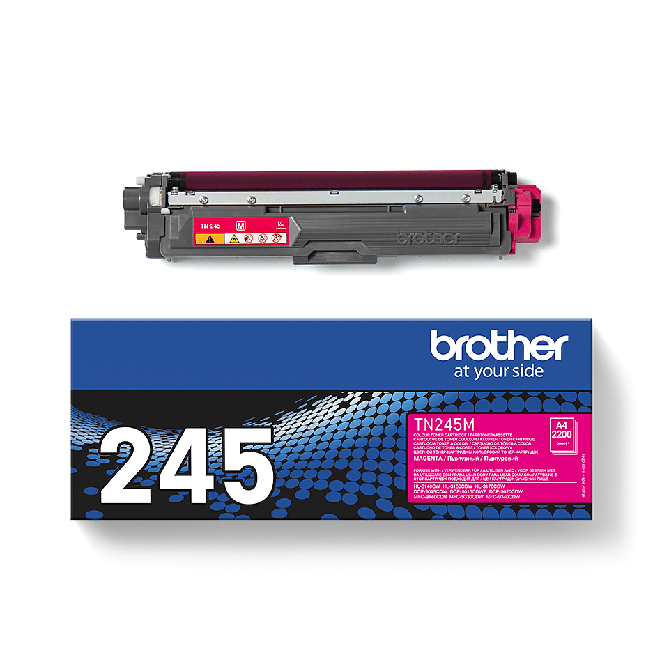 Brother TN-245M Tonerkartusche – Magenta 2