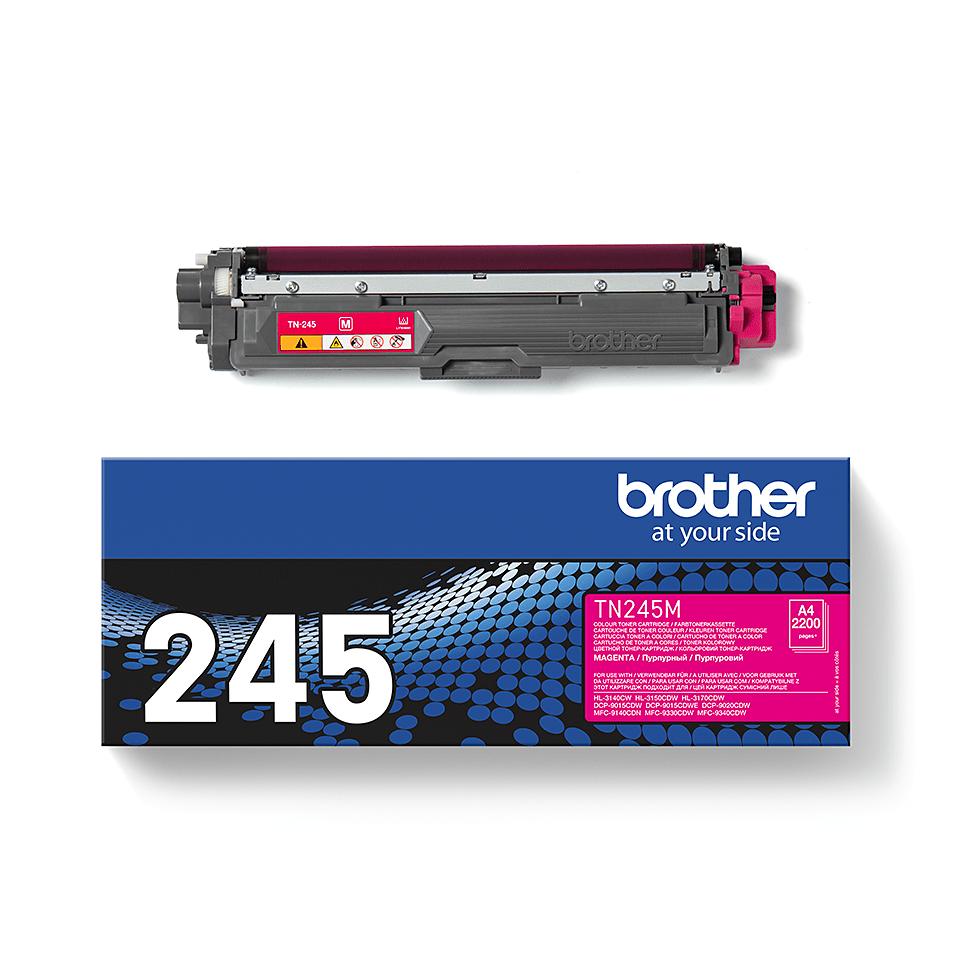 Brother TN-245M Tonerkartusche – Magenta 1
