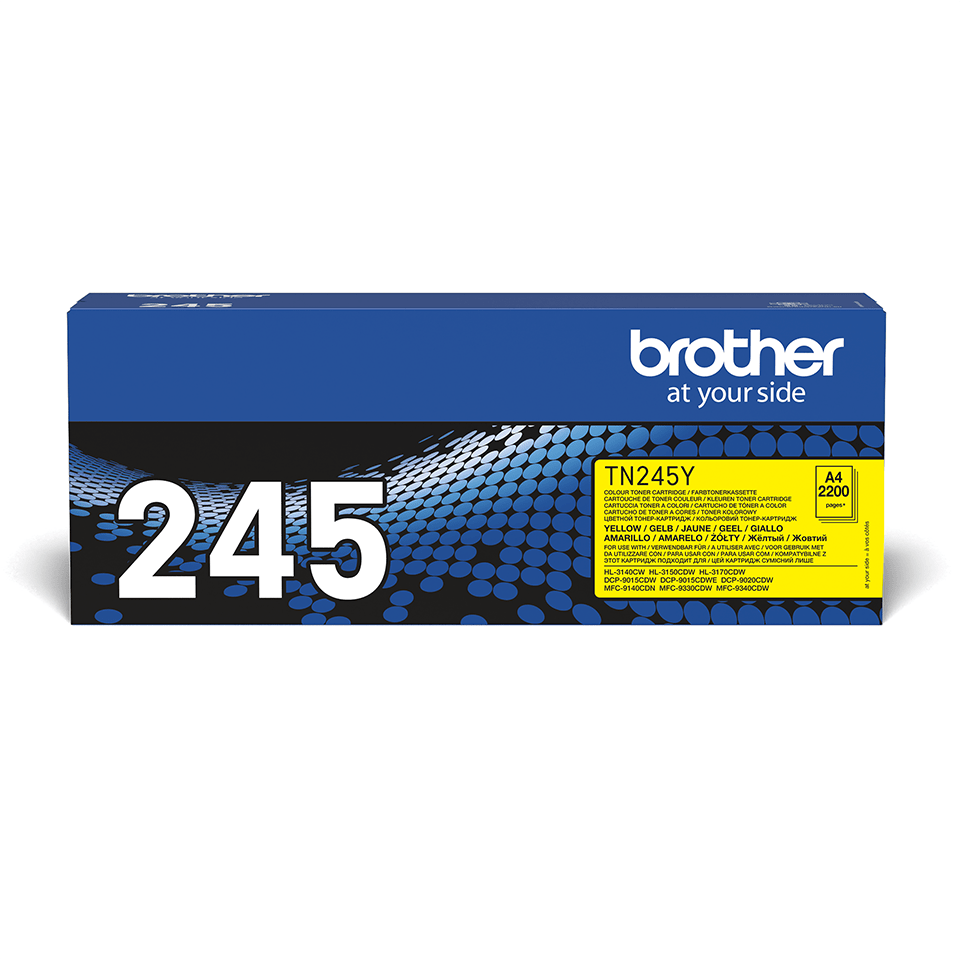 Brother TN-245Y Tonerkartusche – Gelb