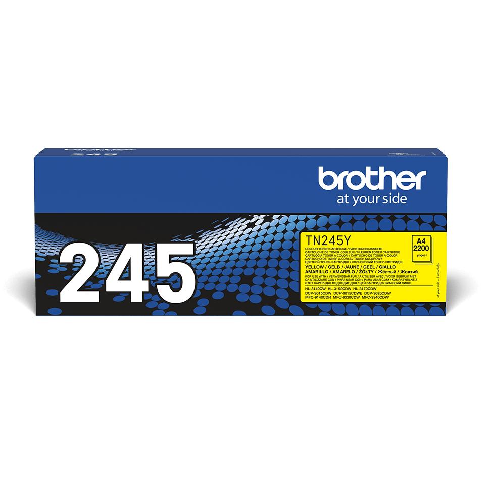 Brother TN-245Y Tonerkartusche – Gelb 2
