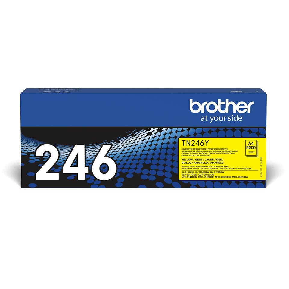Brother TN-246Y Tonerkartusche – Gelb