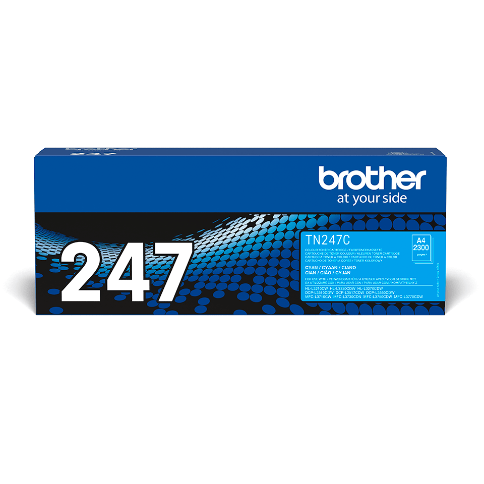 Brother TN-247C Tonerkartusche – Cyan