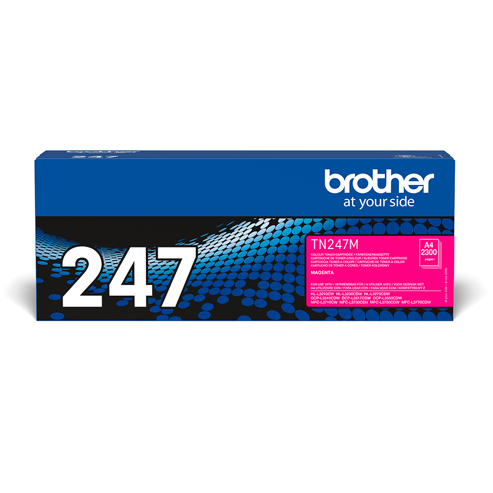 Brother TN-247M Tonerkartusche – Magenta
