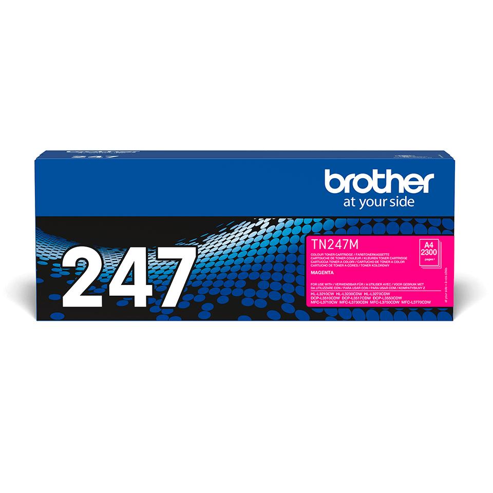 Brother TN-247M Tonerkartusche – Magenta 2