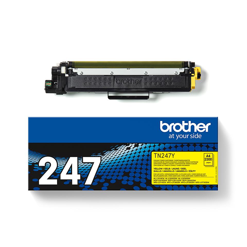 Brother TN-247Y Tonerkartusche – Gelb 3