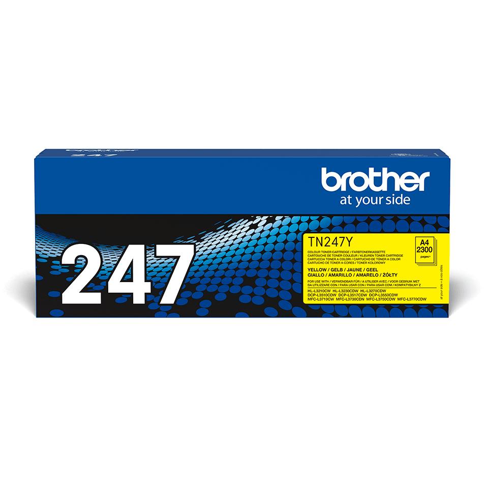 Brother TN-247Y Tonerkartusche – Gelb 2