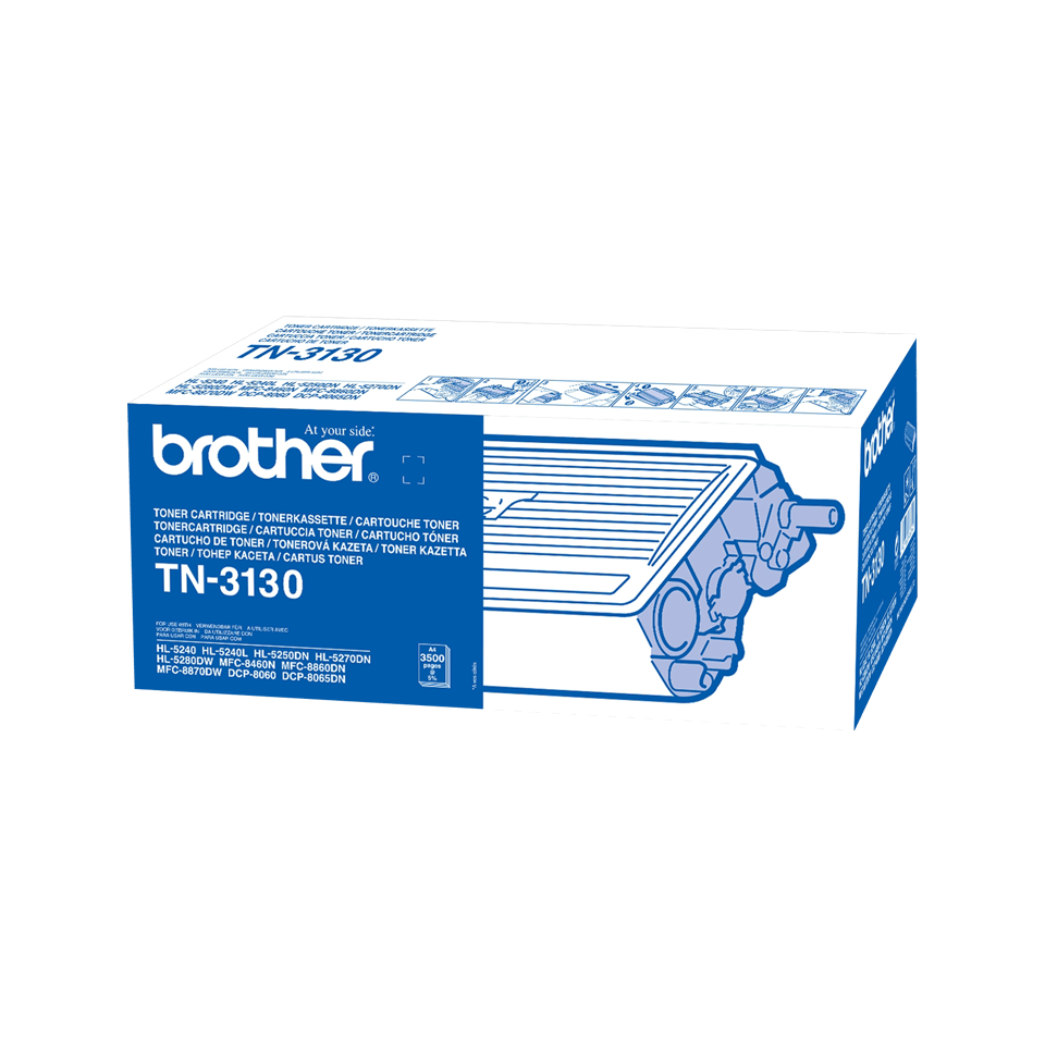 Brother TN-3130 Tonerkartusche – Schwarz 2